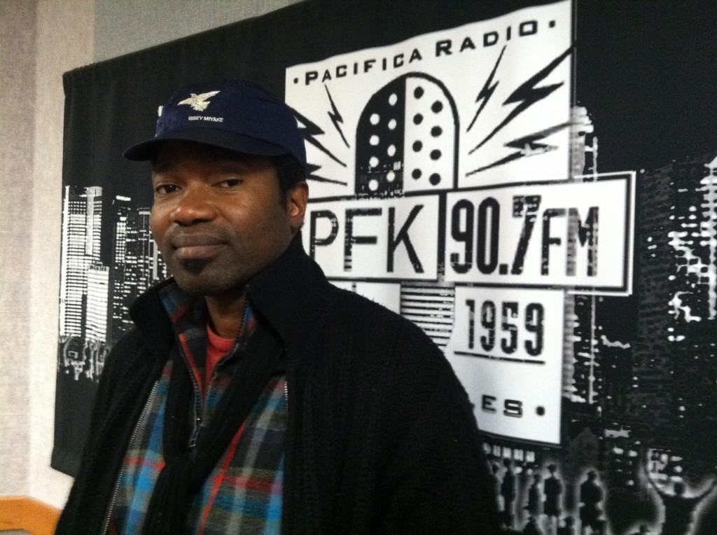 DJ Said (Fatsouls Records) at KPFK.  Dec. 2011