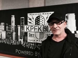 Evan Landes at KPFK.